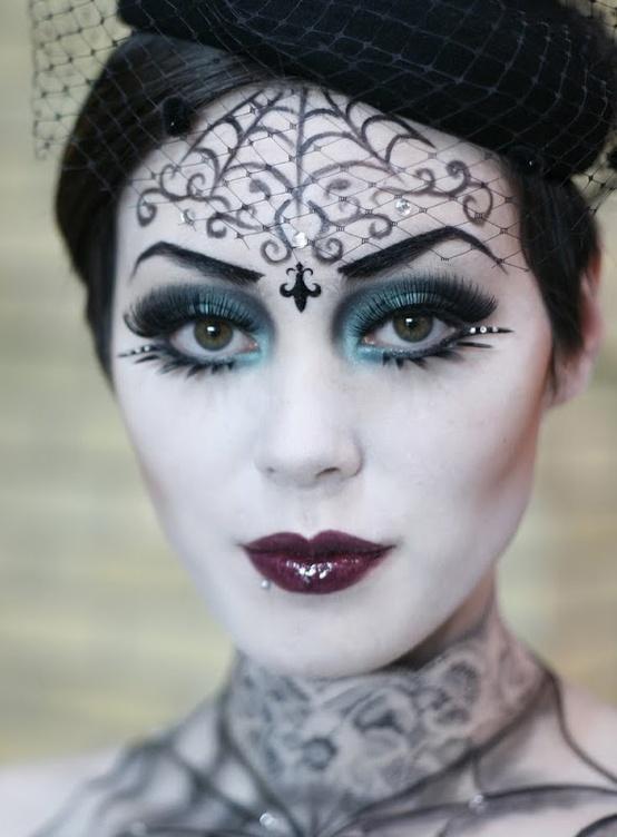 Dead Bride Makeup Pictures : Halloween on Pinterest Frankenstein, Steampunk and ...