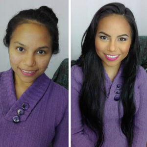 Antes y despues Makeup